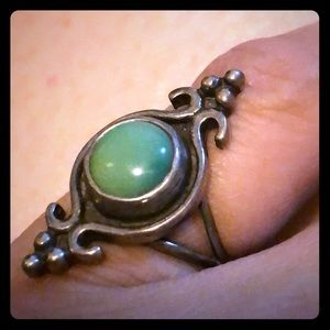 Jewelry - Hand-crafted Sterling silver and turquoise ring!